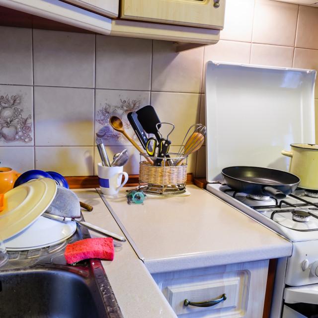 """Kitchen View"" stock image"