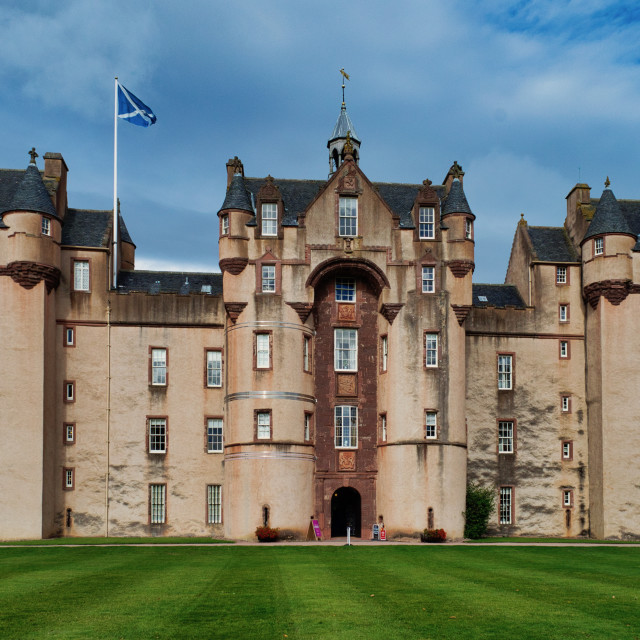"""Fyvie Castle"" stock image"