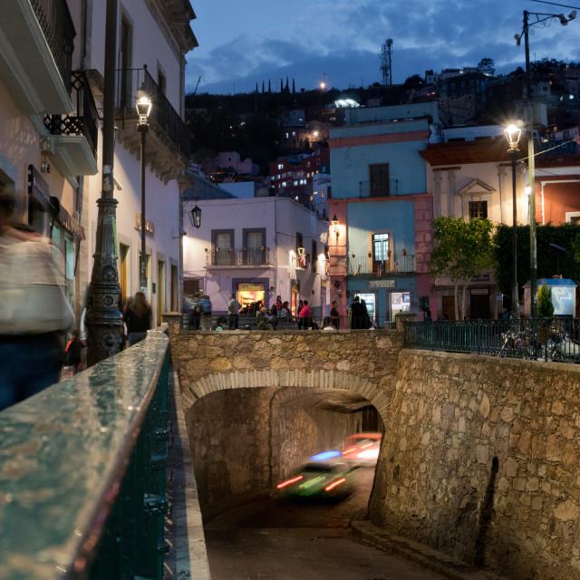 """Tunnels of Guanajuato"" stock image"