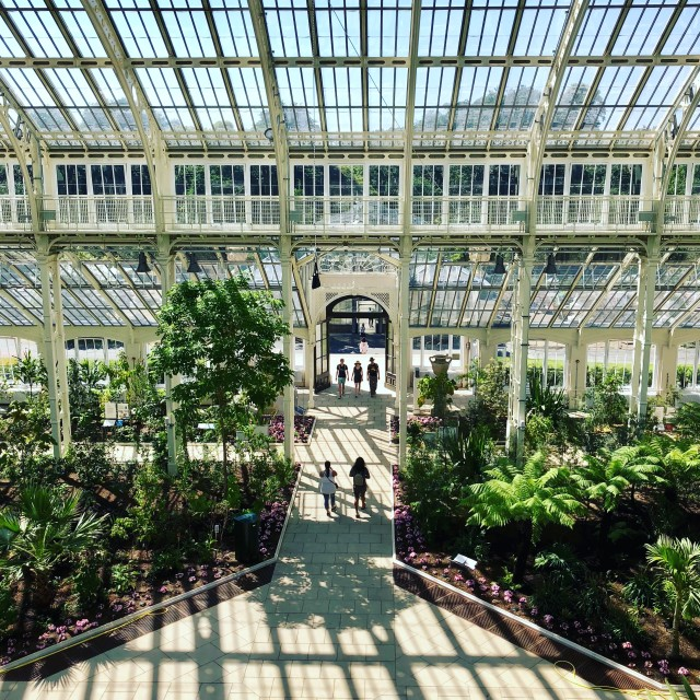 """Kew Gardens Temperate House"" stock image"