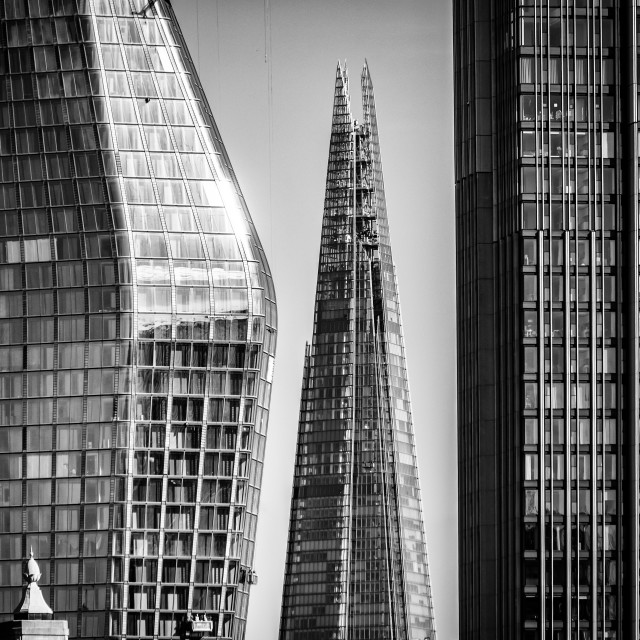"""""""The Shard Between"""" stock image"""