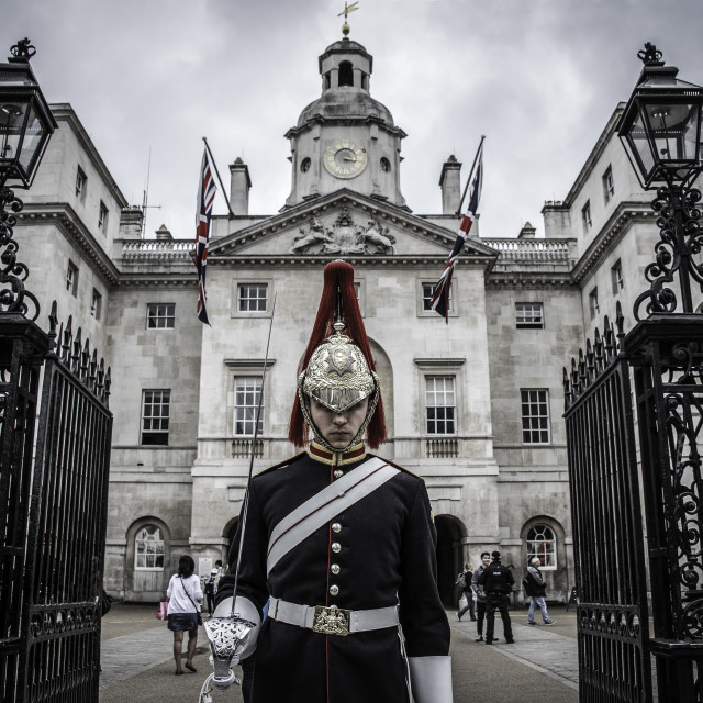 """""""Horseguards"""" stock image"""