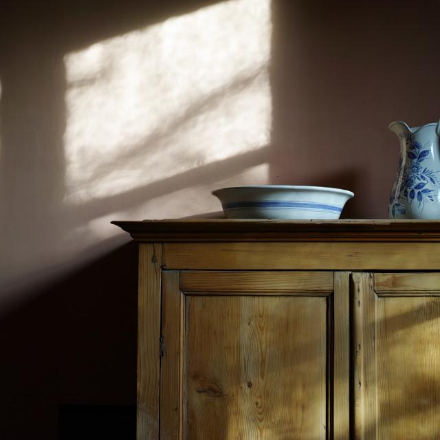 """Still life - Atelier Cezanne"" stock image"