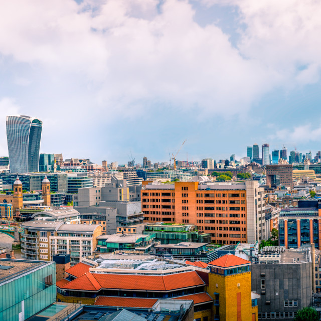 """Cityscape of London"" stock image"