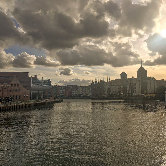 """Gdansk, Poland"" stock image"