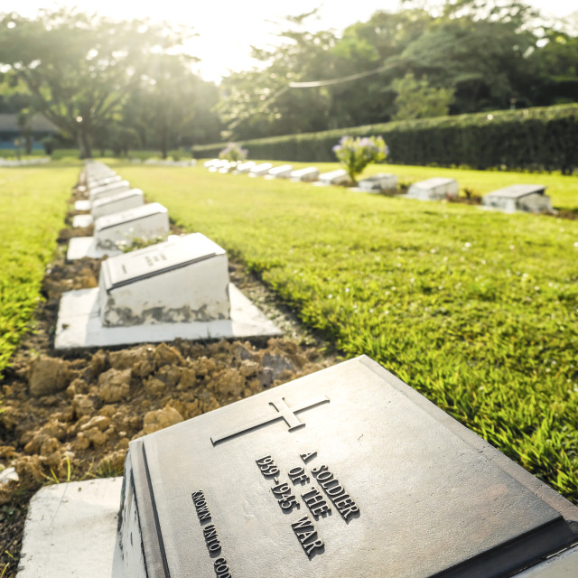 """""""Headstone Of Unknown Soldier"""" stock image"""