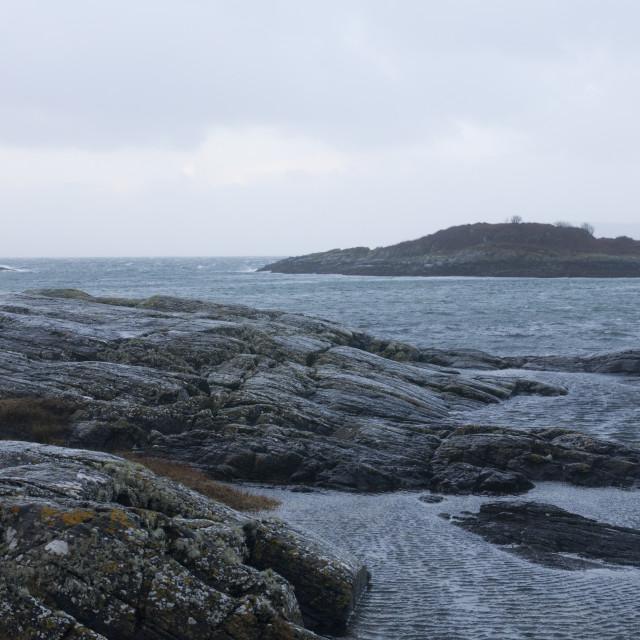 """""""Highland Coastal Scene"""" stock image"""