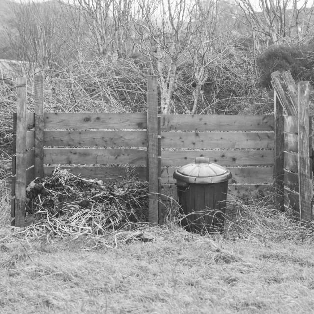 """Composting"" stock image"