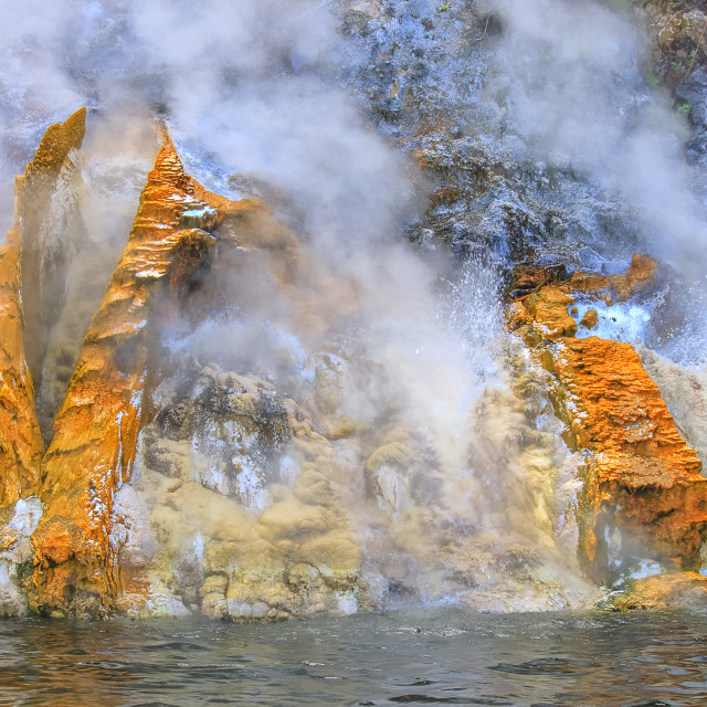 """""""Living earth in New zealand"""" stock image"""