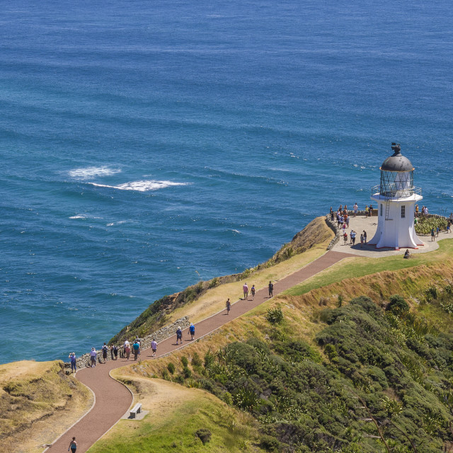 """Lighthouse cape Reigna"" stock image"
