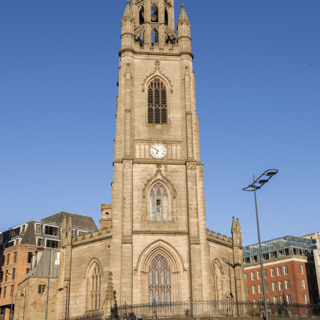 """Our Lady and St Nicholas Church in Liverpool"" stock image"
