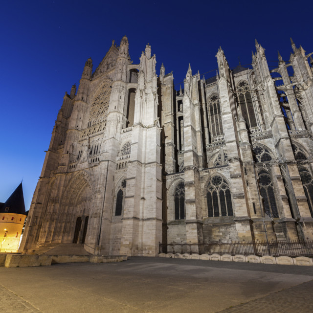 """St. Peter Cathedral in Beauvais"" stock image"