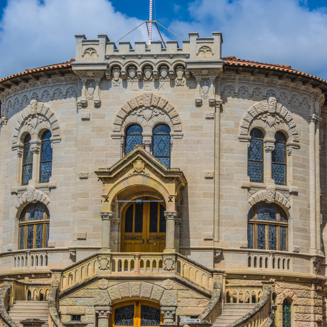 """""""Palace of Justice in Monaco on French Riviera"""" stock image"""