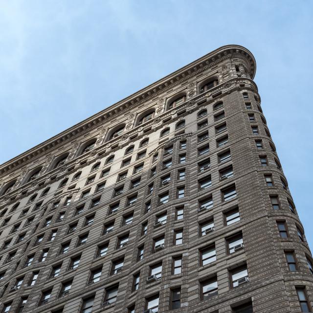 """Flatiron Building, New York City"" stock image"