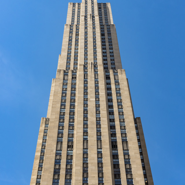 """30 Rockefeller Plaza Building"" stock image"