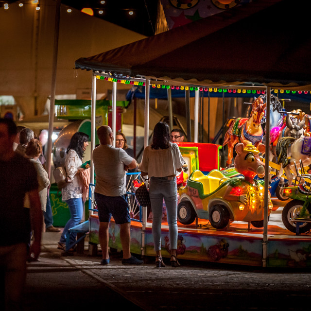 """""""All the fun of the fair."""" stock image"""