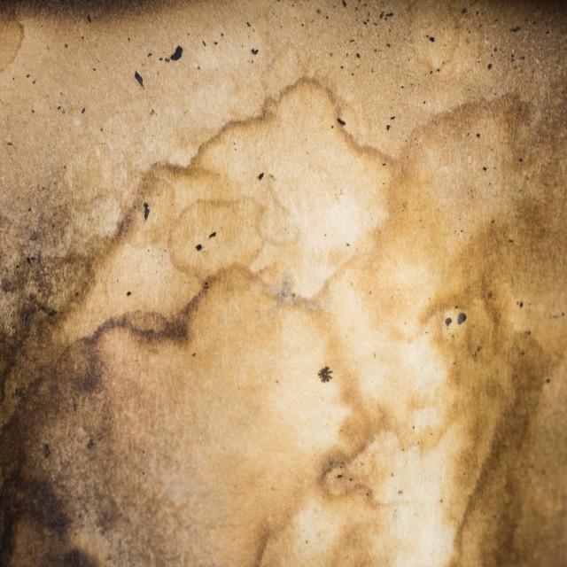 """Old Burnt Paper Background"" stock image"