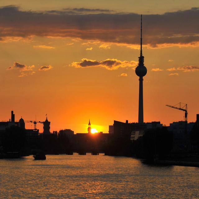"""""""Summer in Berlin"""" stock image"""