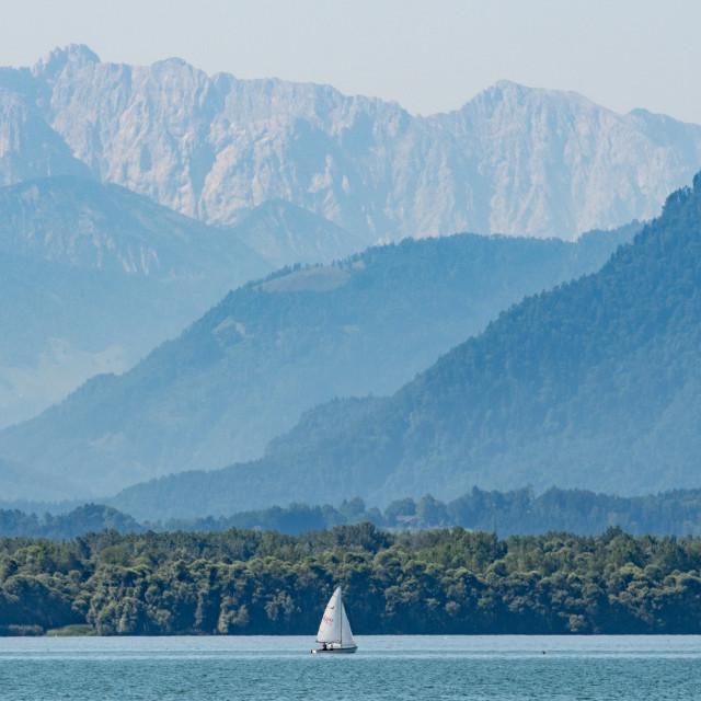 """Heatwave in Bavaria"" stock image"
