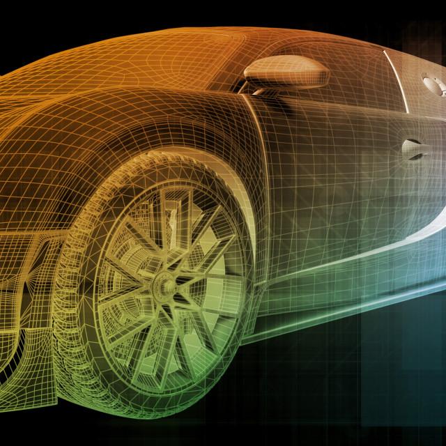"""Automotive Industry"" stock image"