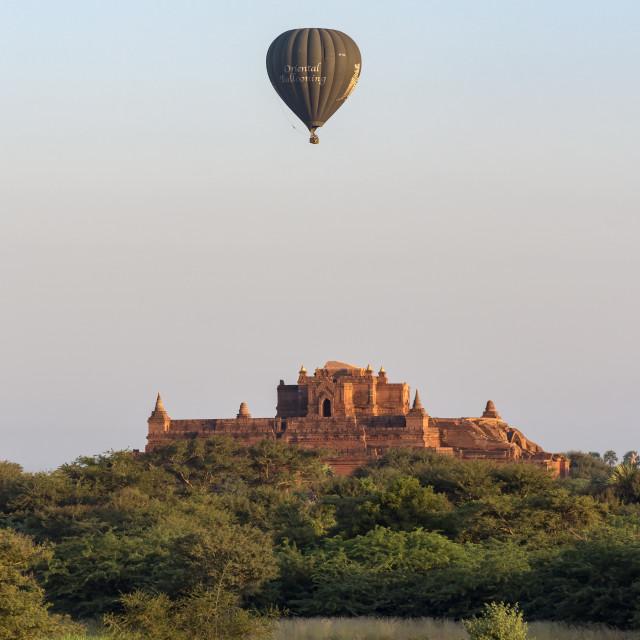 """""""Hot-air Balloons, Bagan"""" stock image"""