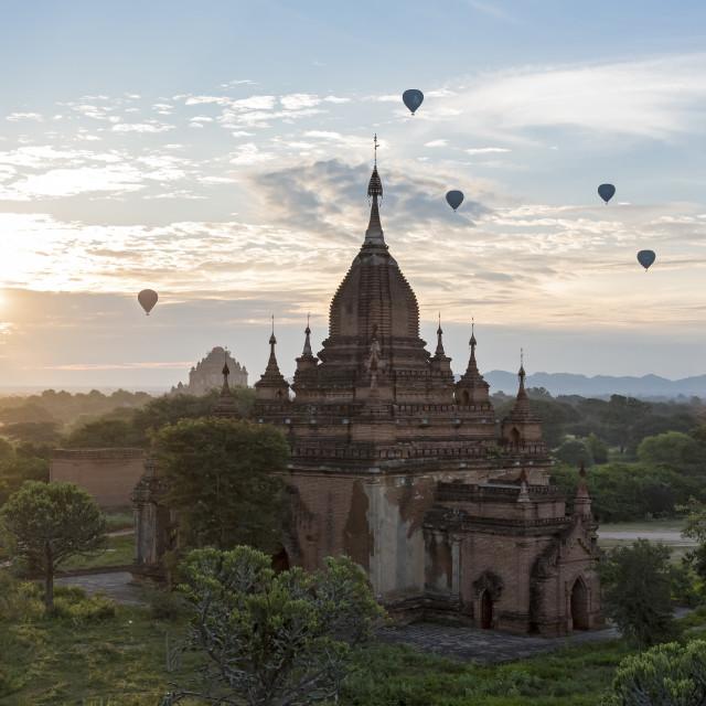 """""""Temples of Bagan, Myanmar"""" stock image"""