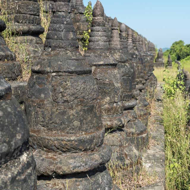 """Koe Thaung Pagoda"" stock image"