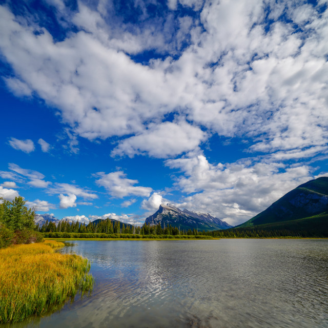 """Rundle Perspective"" stock image"