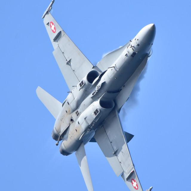 """""""F-18 Practice"""" stock image"""