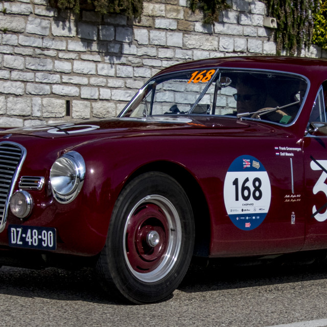 """FIAT SIATA 750 SPORT ""FENOCCHIO"" 1948"" stock image"