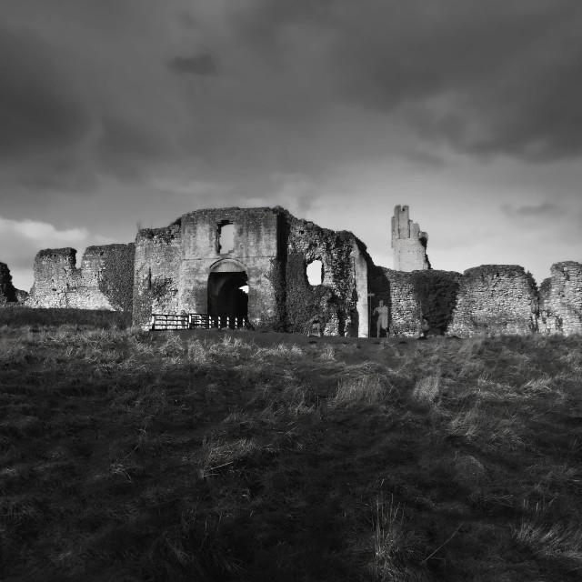 """Helmsley castle,Yorkshire"" stock image"