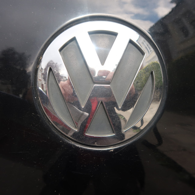 """Volkswagen badge"" stock image"