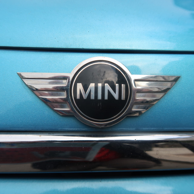 """Mini Badge"" stock image"