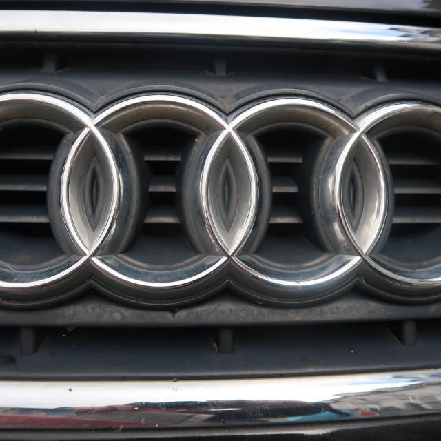 """Audi Badge"" stock image"