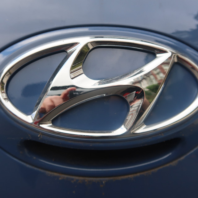 """Nissan Badge"" stock image"