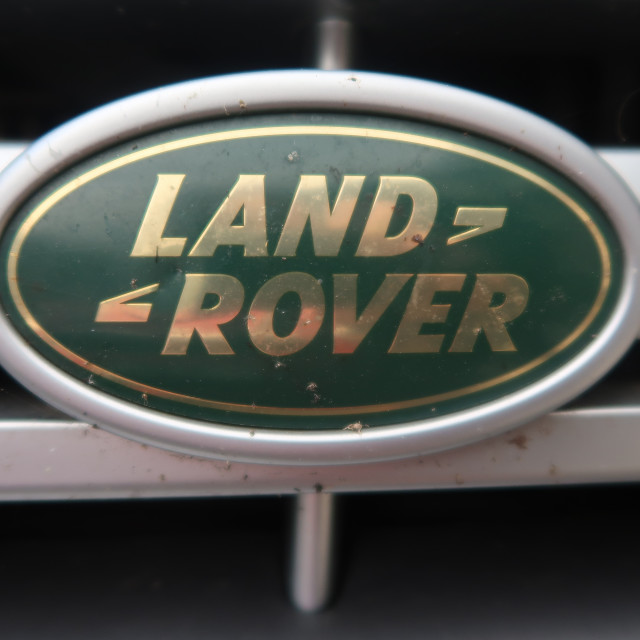 """Land Rover Badge"" stock image"