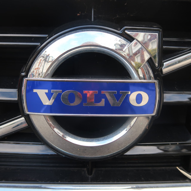"""Volvo Badge"" stock image"