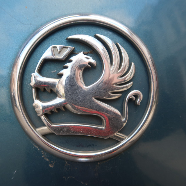 """Vauxhall Badge"" stock image"