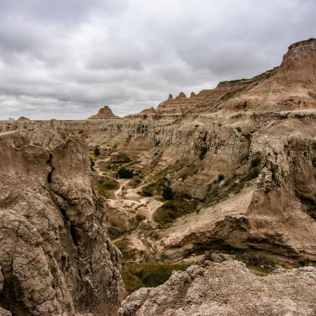 """""""Badlands National Park"""" stock image"""