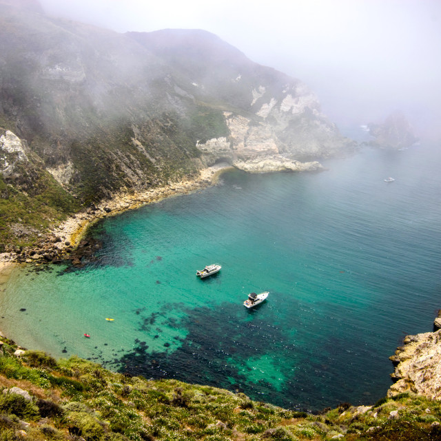 """""""Potato Harbor at Channel Islands National Park"""" stock image"""