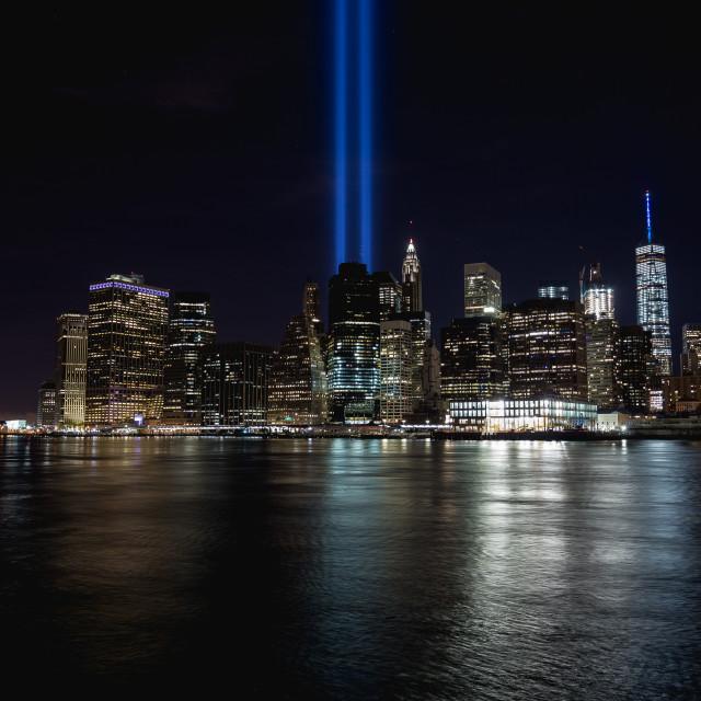 """""""Remembering September 11"""" stock image"""