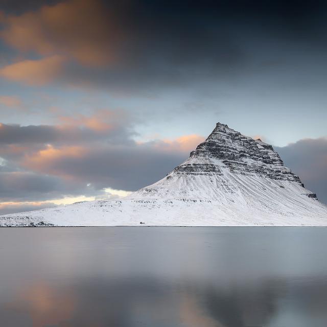 """Kirkjufell Mountain, Iceland"" stock image"