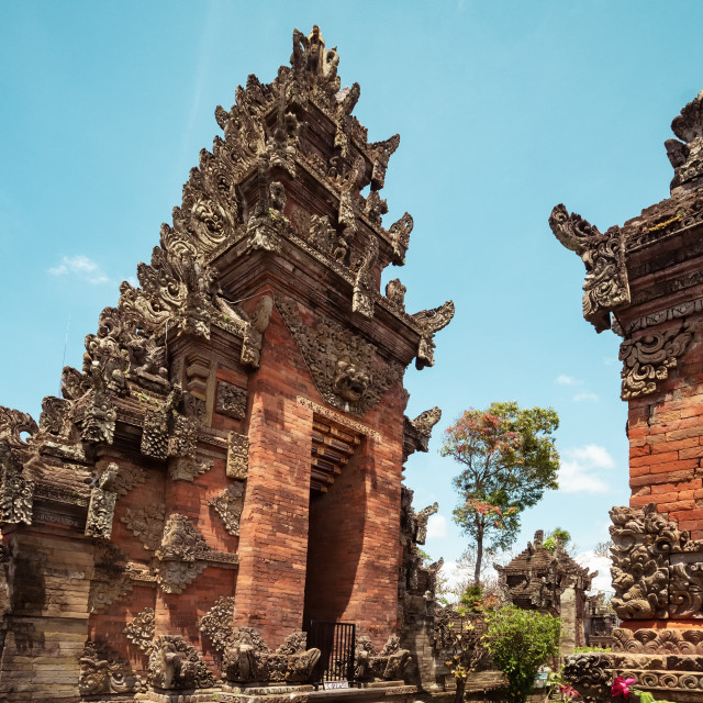 """""""Puseh Batuan temple in Bali Indonesia."""" stock image"""