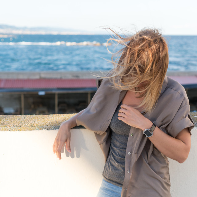 """""""Emma::- Beauty in the Wind"""" stock image"""