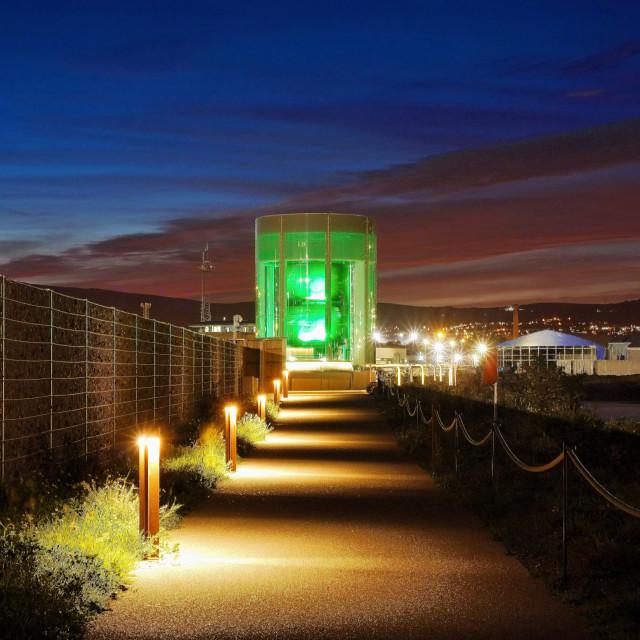 """The Great Light Belfast"" stock image"