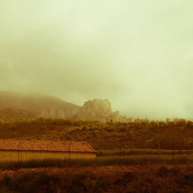 """Huesca, Spain"" stock image"