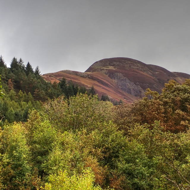 """""""Conic Hill"""" stock image"""