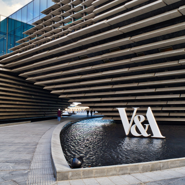 """V&A Dundee"" stock image"