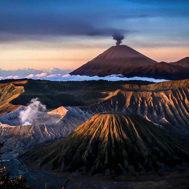 """""""Mt. Bromo, east Java"""" stock image"""