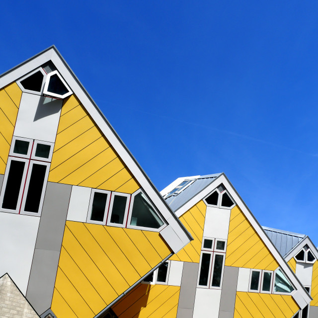 """Cube Houses of Rotterdam"" stock image"